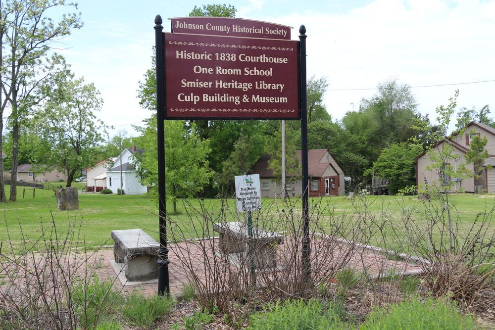 Johnson County Historical Society sign--shot May 2021.JPG